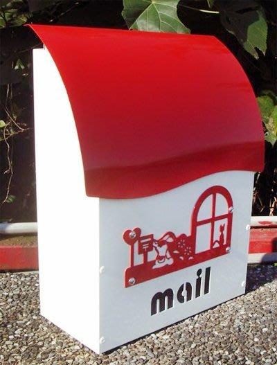 ☆成志金屬☆彩色鋁合金超漂亮信箱無鎖--藍色、黃色 、綠色、紅色多種選擇『特價供應』