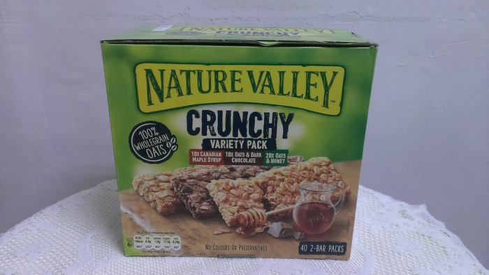 【COSTCO】Nature Valley 天然谷 綜合燕麥棒(每盒1.68kg/40條)促銷589元(可面交或全家取貨