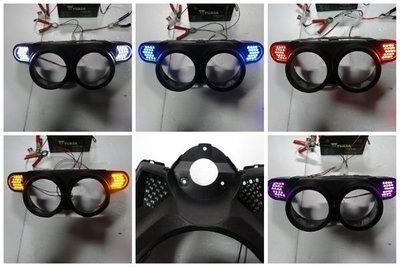新廣科技 HID BWS 125 後方向燈+繼電器=900元。