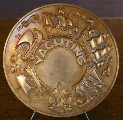 法國銅章 1948 France Yachting Mermaid Bronze Medal