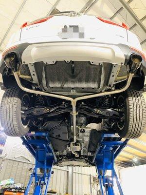 高雄 乙鑫排氣管 CRV 5代 CRV5 中尾閥門版 閥門 尾飾 尾飾管
