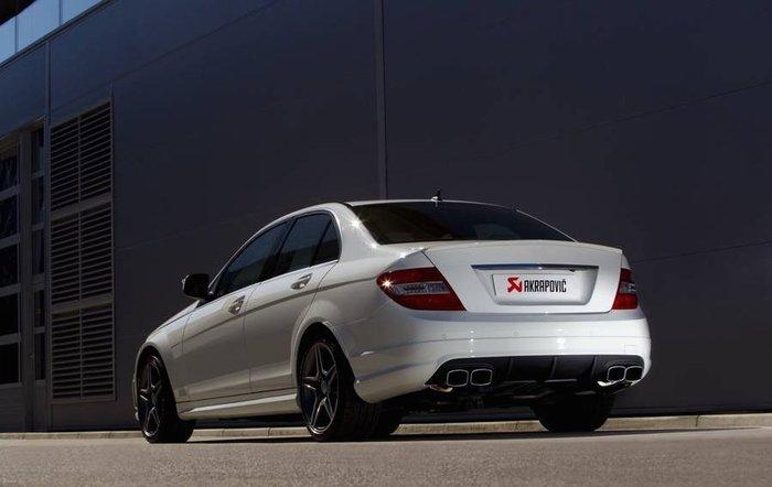 【樂駒】Akrapovic 排氣系統 Mercedes Benz C63 AMG
