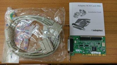 夢想電料_ 古玩賞之Adaptec SCSI Card 2906全新含線(免運費)