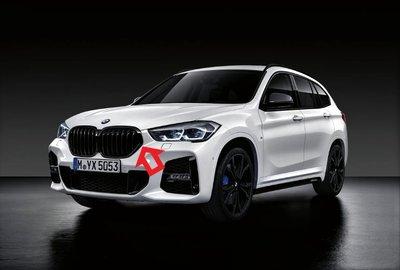 【歐德精品】BMW原廠 F48 X1 19- 高光黑水箱護罩 黑鼻頭 水箱罩 X1黑鼻頭 X1水箱罩 18i 20i