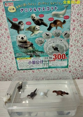 【小哲公仔】新品 Toys Spirits(扭蛋) 水面漂浮動物 全套共5款390元<現貨>