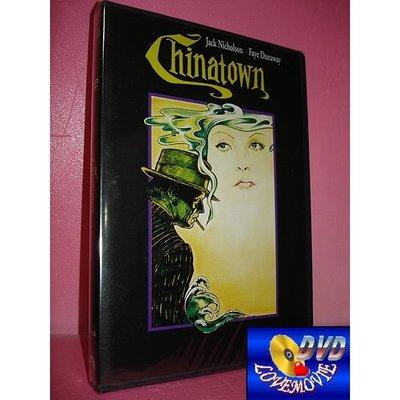 三區正版【唐人街Chinatown(1974)】DVD全新未拆《軍官與魔鬼、飛越杜鵑窩、愛在心裡口難開:傑克尼克遜》