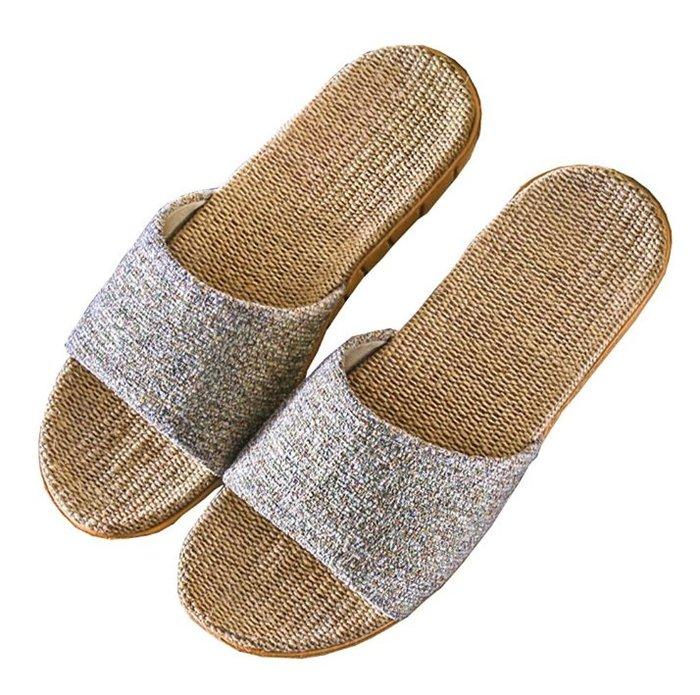 《FOS》日本 麻製 室內 拖鞋 日式 涼爽 透氣 舒適 麻 夏天 消暑 居家 營業 團購 2019新款 熱銷第一