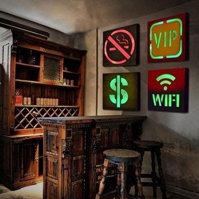 掛飾 壁掛 擺件-美式仿古LED指示燈創意居家擺飾用品24款73a14[獨家進口][巴黎精品]