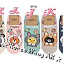 Korea Wang AK~(現貨)韓國代購 東大門 BT21超Q版短襪襪貓咪熊大Q版短襪11款 單雙60元【SS01】