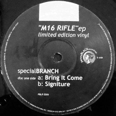 [狗肉貓]_ Special Branch _ M16 Rifle EP   _ LP