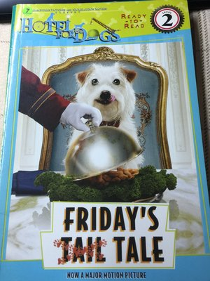 二手英文童書繪本  Friday's Tall Tale :  Hotel For Dogs  33