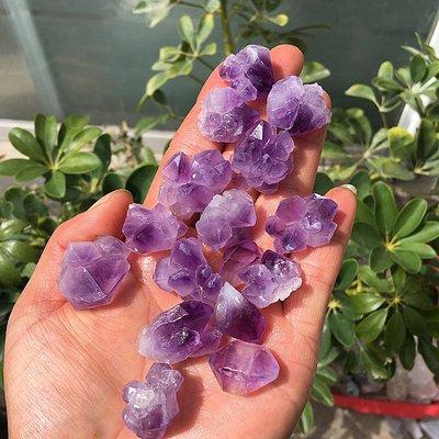 【水晶宮】正品純天然紫水晶原石原礦 骨干標本水晶紫水晶花簇狀小顆粒