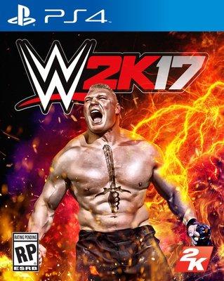WWE 2K17 PS4 PlayStation 4 美國職業摔角遊戲