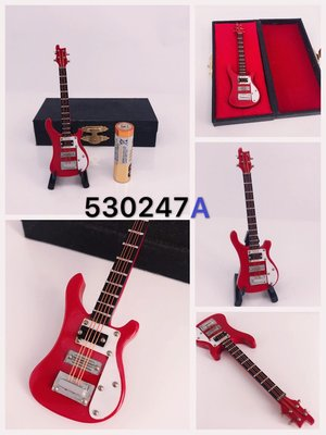 有2色!迷你 Bass Guitar 低音結他木製模型music instrument wood figure model toy 吉他擺設精品禮物禮品