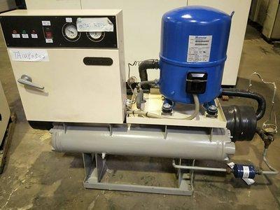 (大台北)中古大同15RT水冷冰水機3φ380V(編號:TA1080502)~冷氣空調拆除回收買賣出租~