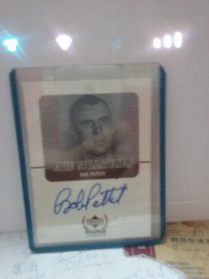 BOB PETTIT 1999UPER DECK 簽名卡