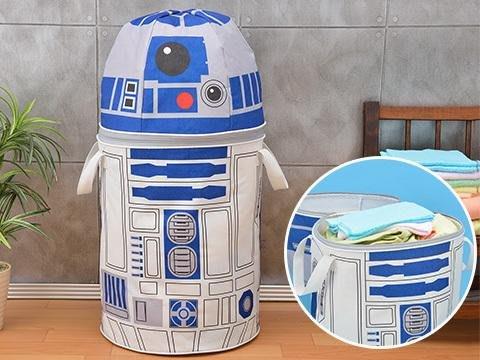 【一手動漫】日本正版 SEGA景品 PM 星際大戰R2D2 超巨大60公分 R2-D2 收納箱 置物箱
