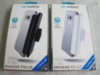 全新品~DEFENSE X-Doria ENGAGE FOLIO~Samsung S8 時尚.刀鋒.翻蓋防摔殼.公司貨