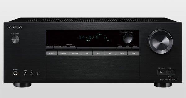 【林口豪韻專業音響】ONKYO TX-SR383 7.2聲道環繞擴大機 全新公司貨 來店(電)享優惠價