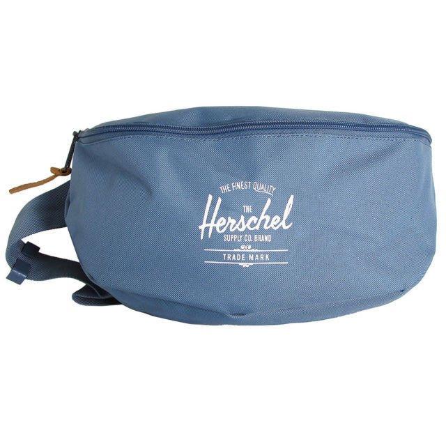 【Q寶媽】Herschel SIXTEEN 單肩包/斜背包 輕量帆布 10016- 01334 寬版可調式腰帶 全新