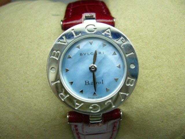 [吉宏精品交流中心]BVLGARI 寶格麗 22mm 不鏽鋼 皮帶 石英 女錶