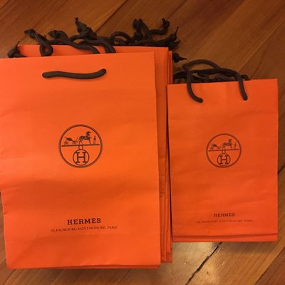 Hermes Paper Bag (Size: Large/ Medium/ small)
