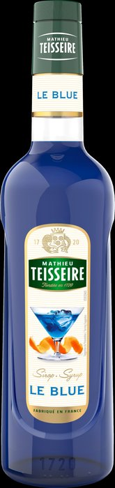 Teisseire 糖漿果露-藍柑橘風味 Le Blue  法國頂級天然糖漿 700ml-【良鎂咖啡精品館】
