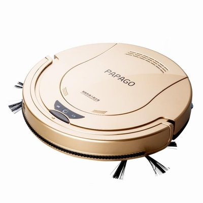 PapaGo掃地機器人超薄家用智能吸塵器全自動擦地拖地清潔一體機