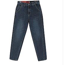 i-Mini 正韓|彈性腰帶輕磨毛小直筒牛仔褲|SML‧ 韓國連線‧代購‧空運【11202428LY】