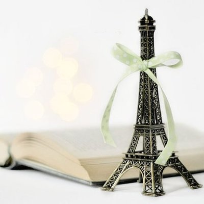 生活雜貨館☆Paris巴黎鐵塔 艾菲爾鐵塔模型 拍攝道具 民宿咖啡廳店鋪餐廳質感擺飾 居家風格裝飾佈置-18CM