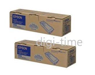 【全新含稅,二件裝】原廠碳粉匣 EPSON S050588 高容量優惠黑色碳粉匣 適用M2410/MX21DNF