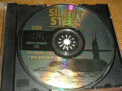 正版電腦遊戲---Silent Steel (静默鋼鐵) 稀有絕版片 (1995)