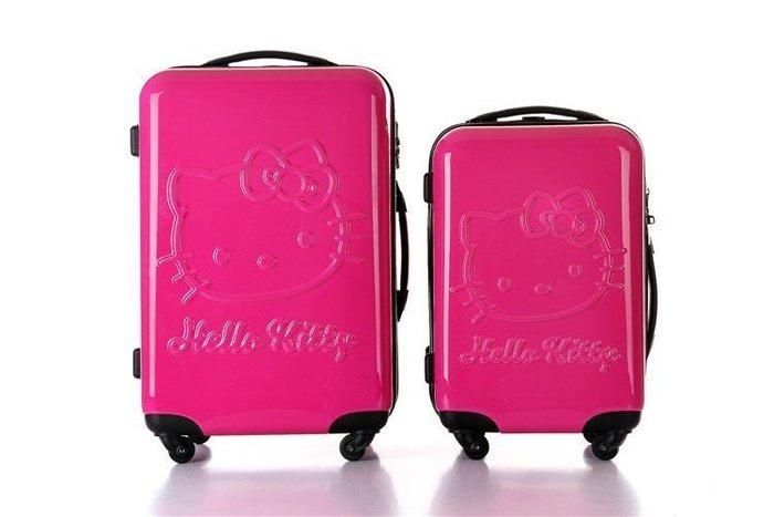 【易發生活館】新品熱銷 特價 hello Kitty拉桿箱KT貓 卡通可愛旅行李箱20 /24寸 旅行箱登機箱