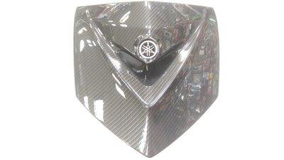 正MOTO EPIC部品 勁戰三代 3代勁戰 水轉印 碳纖維前胸蓋 大盾 #D 黑色