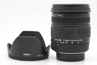 【高雄青蘋果3C】SIGMA 17-70MM F2.8-4 MACRO HSM DC OS FOR N#46963