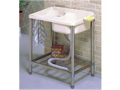 ABS不銹鋼洗衣槽 華冠 PB-911 簡易安裝 超耐用 洗衣好幫手 陽台流理台洗衣槽 洗手槽 洗碗槽 陽台水槽