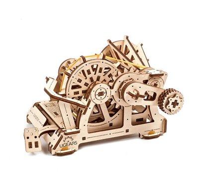 Ugears 無段變速器 CVT變速箱原理 STEM學習 改變齒輪配置比例 模型
