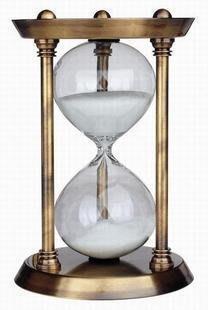 【易發生活館】新品新年七夕情人節德國KOCH30分鐘銅制計時器 沙漏 創意禮品結婚新奇禮物聖誕節特價 CSH333