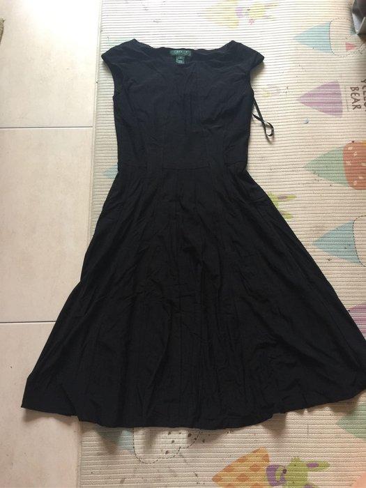 Lauren 黑色無袖洋裝 size 2