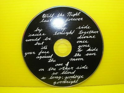▀ 博流挖寶館 ▀ 光碟CD = low secret name  will the night last foreve
