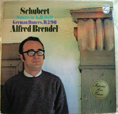 ***黑膠 Brendel - Schubert : Piano Sonata D.959 & German Dances D.790 (荷版)