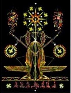 [心靈之音] #50 約櫃天使:神聖計畫的導師(點燃熱情與信念)能量催化圖經典系列-美國進口中文說明