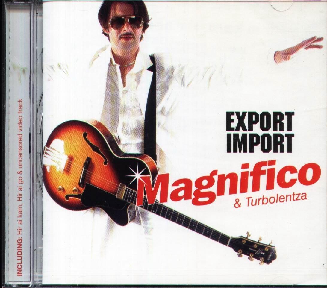 八八 - MAGNIFICO & TURBOLENTZA. Export Import - CD - NEW