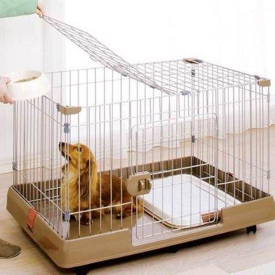 【??培菓寵物48H出貨??】IRIS】室內外兩用貓狗籠RKG-900 (簡單實用寵物籠) 特價3490元限宅配