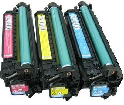 HP 環保碳粉匣CE251A藍/CE252A黃/CE253A紅 單支任選 適用CP3525N/CP3525/CM3530