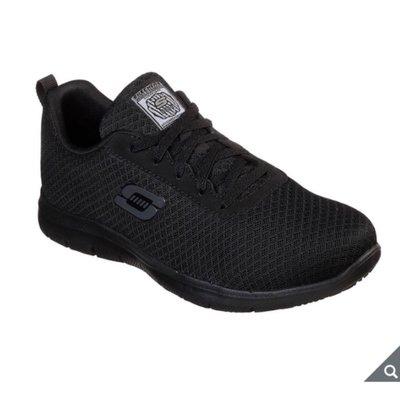 Skechers 女輕量工作防滑鞋 橡膠大底 耐穿耐磨 防水抗污 網布鞋面 輕量避震中底