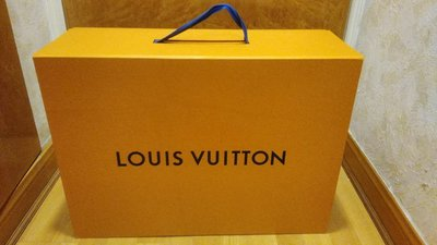 Authentic LOUIS VUITTON Magnetic Large Empty Gift Box Size 59x43x23cm 禮盒