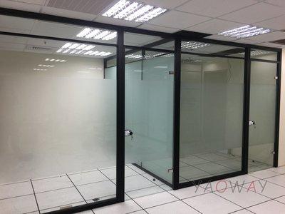 【耀偉】鋁框高隔間 (辦公桌/辦公屏風-規劃施工-拆組搬遷工程-組合隔間-水電網路)8