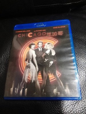 BD 藍光Blu-ray 芝加哥 Chicago 芮妮齊薇格 凱薩琳麗塔瓊絲 李察吉爾