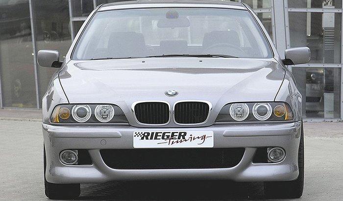 【樂駒】RIEGER BMW 5-series E39 M5 前保桿 保險桿 空力 外觀 改裝 套件 霧燈